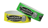 DRINK RESPONSIBLY WRISTBANDS Wristband