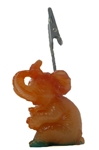Elephant Ticket Holder (Orange) Ticket ,Holder, novelty, cheap, gift ,christmas, ELEPHANT