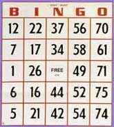 50-Pack Jumbo Easy Read Bingo Cards Jumbo, Easy, Read, Bingo, Cards,