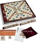 Giant Scrabble Deluxe scrabble, board game, game