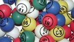 Multi Color Single Number Bingo Ball Set Bingo balls, balls, colored