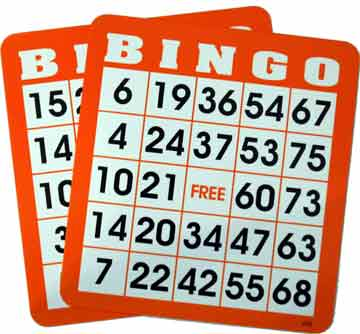 300 Plastic Coated Bingo Cards Finge,Tip,  Bingo, Cards, shutter, Coated, Plastic