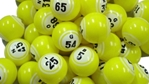Yellow Double Number Bingo Ball Set Double, Number, Bingo, Ball, Set,