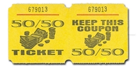 Marquee Ticket 50/50 Ticket Raffles, tickets, rolls, 50/50, Marquee, Ticket