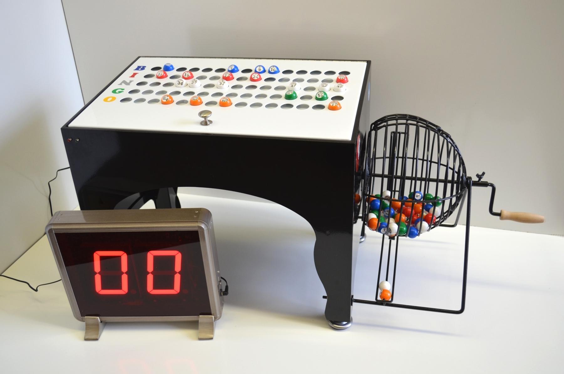 automatic bingo machine