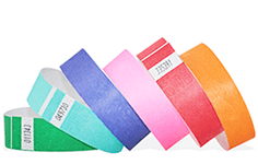 "1"" Solid Color Wristbands"