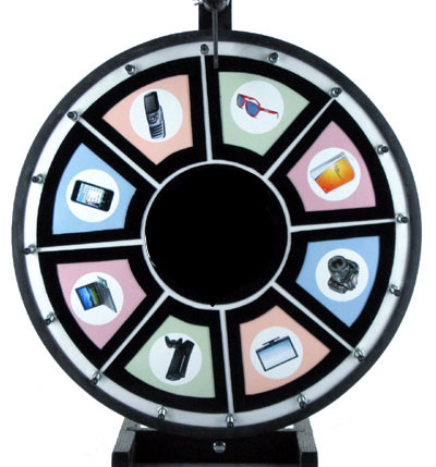 "18"" Magnetic Prize Wheel"