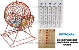 Colorful Professional Ping Pong Cage Set Bingo, Cage