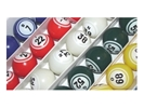 Multi-Color Coated Double Number Bingo Ball Set Color, Double, Number, Bingo, Ball, Set,