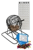 "9"" Bingo Cage Set Party, Bingo, Set, games,"