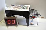 Deluxe Speedy Automatic Bingo Machine Speedy Automatic Bingo Machine, Bingo Cage, Wooden Balls, machine, Automatic Bingo Machine, LED Bingo Board